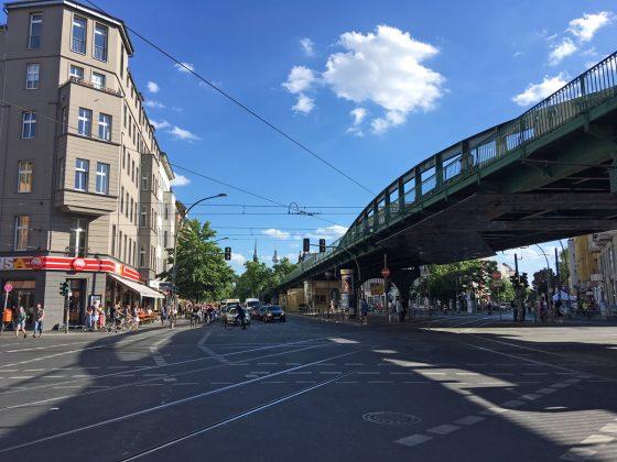 Berliner Szene-Viertel Prenzlauer Berg - die Heimat von Sandbox Interactive.