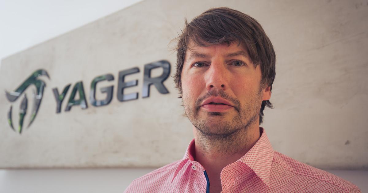Timo Ullmann ist einer der Gründer und Geschäftsführer von Yager Development.