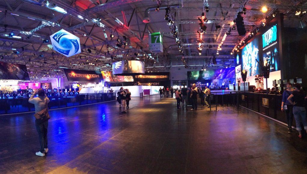 Ruhe vor dem Sturm: Die Gamescom 2017 startet am 22. August.