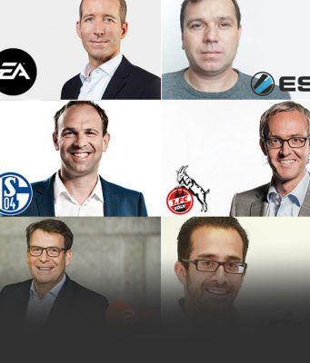 """Einige der Referenten des """"Gaming & Media 2017""""-Kongress."""