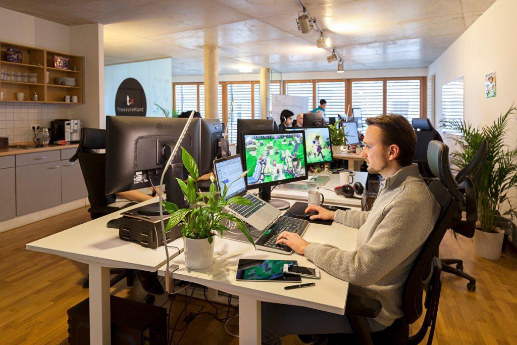 Die TreasureHunt GmbH in Berlin-Mitte beschäftigt rund 20 Mitarbeiter.