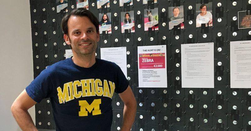 MegaZebra-Geschäftsführer Henning Kosmack sucht neue Mitarbeiter.