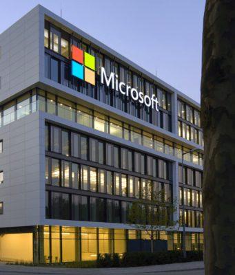 Die Deutschland-Zentrale von Microsoft in München Schwabing (Foto: Microsoft)