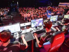 """Das """"Playerunknown's Battlegrounds""""-Turnier findet täglich auf der ESL-Bühne in Halle 9 statt (Foto: KoelnMesse/Jürgen Dehringer)"""