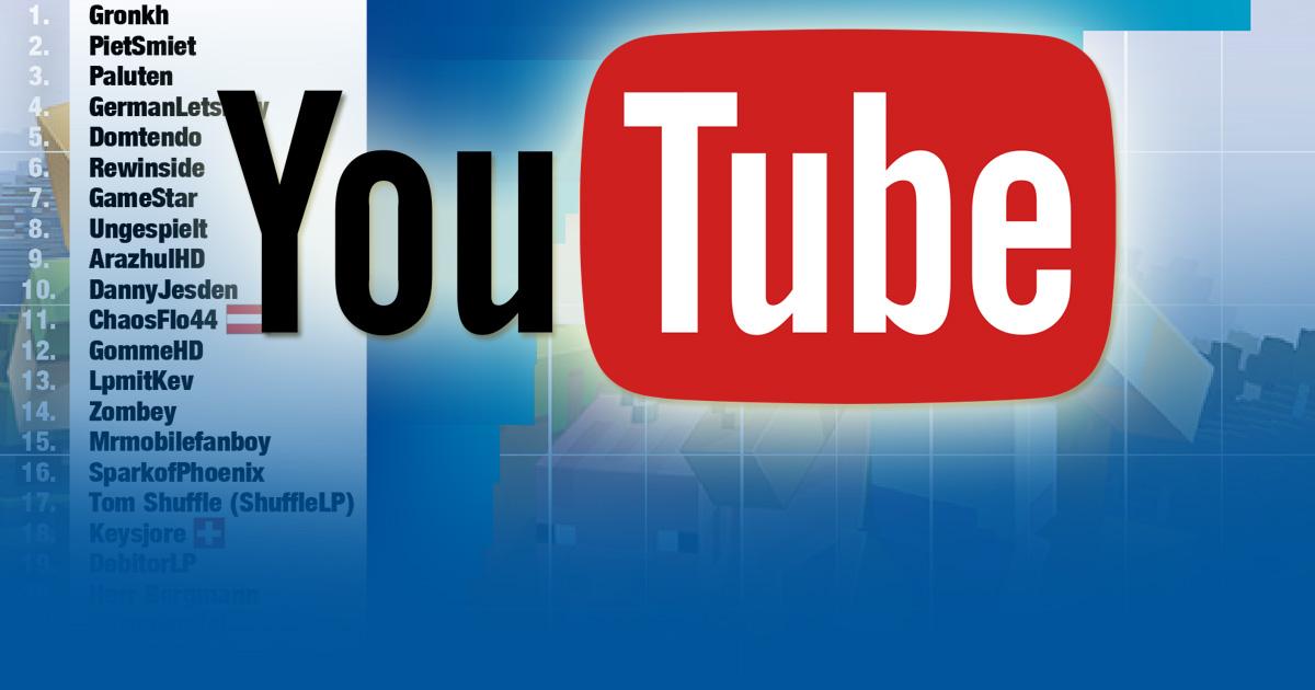 Exklusiv Die Erfolgreichsten Letsplayer Und GamingYoutuber - Youtube minecraft deutsch spielen