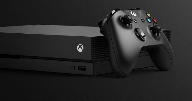 Microsoft stellt auf der Gamescom 2017 die neue Xbox One X vor.