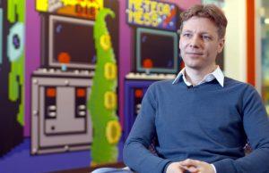 """Christian Schmidt (einst GameStar, jetzt InnoGames und """"Stay Forever"""") ist Teil der ZDFinfo-Doku """"Was spielt Deutschland?"""" (Foto: ZDF/AVE/Janett Kartelmeyer)"""