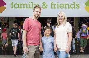 """Ganz auf Familien mit Kindern zugeschnitten: der """"Family & Friends""""-Bereich der Gamescom (Foto: KoelnMesse / Hanne Engwald)"""