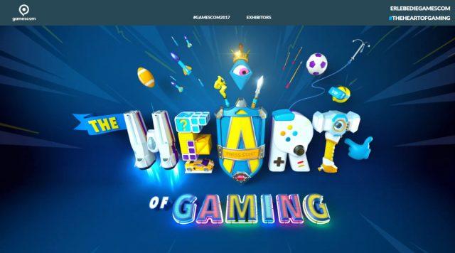 Das Motto der Gamescom 2017: