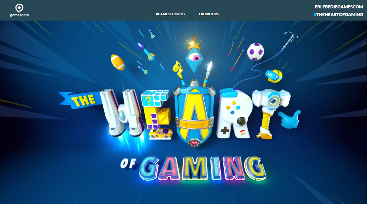 The Heart Of Gaming Offizielle Gamescom Website Gestartet