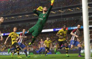 """Digitaler Sport trifft auf realen Sport - bei Gamescom-Highlights wie """"PES 2018"""" und auf dem """"SPOBIS Gaming & Media 2017"""" (Bild: Konami)"""