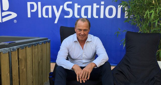 Stellte sich den Fragen der Journalisten: Uwe Bassendowski, General Manager der Sony Interactive Entertainment GmbH.