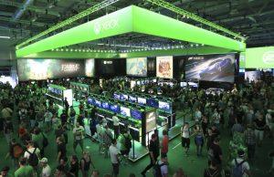 """Microsoft lädt 300 Fans zum """"Xbox Fanfest"""" auf der Gamescom 2017 ein (Foto: KoelnMesse, Tobias Vollmer)"""