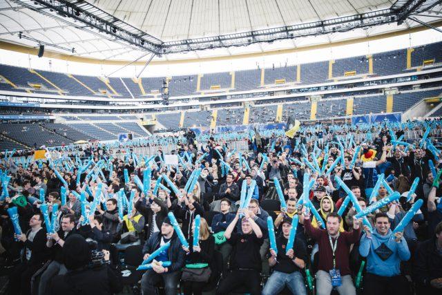 Bitkom-Umfrage: eSport (hier die ESL One in Frankfurt) ist für jeden Fünften eine