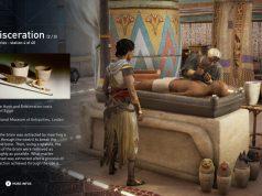 """Spielend lernen: Der Entdeckungsmodus von """"Assassin's Creed Origins"""" erklärt unter anderem das Prinzip der Mumifizierung."""