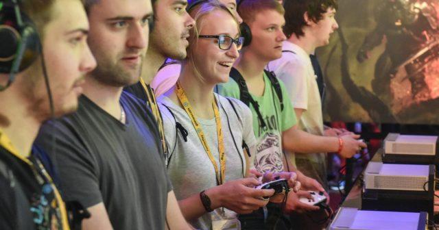 Ausverkaufte Events wie die Gamescom 2017 übertünchen die enorme Unwucht in der Branche, wie sie der BIU Jahresreport 2017 benennt (Foto: KoelnMesse/Thomas Klerx)