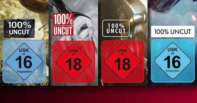 100 Prozent Uncut: Immer mehr Spiele erscheinen ungeschnitten.