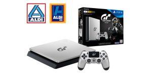 """Ab 26. Oktober in den ALDI-Filialen: die PlayStation 4 im limitierten """"Gran Turismo Sport""""-Design"""