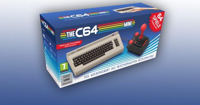 Ab Frühjahr 2018 für rund 80 Euro erhältlich: der C64 Mini.