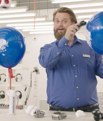 Vier Jahre lang warb Antoine Monot Jr als Tech-Nick für Saturn (Foto: Serviceplan)