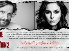 """Bethesda veranstaltet ein Live-Letsplay mit Gronkh - diesmal mit Lena Meyer-Landrut zum Start von """"The Evil Within 2""""."""