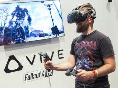 Kurz vor der Gamescom 2017 hat HTC den Preis für die VR-Brille HTC Vive dauerhaft um 200 Euro gesenkt (Foto: KoelnMesse/Harald Fleissner)