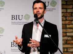 BIU-Geschäftsführer Felix Falk spricht sich für eine Gleichbehandlung von Film und Spiel aus (Foto: Oh Hedwig/Saskia Bauermeister)