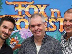 """EuroVideo übernimmt Vertrieb und Publishing von """"Fox Forests"""" - von links: Rupert Ochsner (Bonus Level Entertainment) sowie Marc Wardenga und Michael Pettke (beide EuroVideo)"""