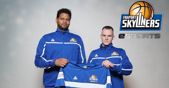 Christopher Diaz Maceo und Dominik Beckhaus sind die Kapitäne der eSports-Mannschaft der Fraport Skyliners