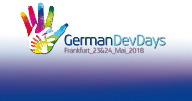 Die German Dev Days 2018 finden am 23. und 24. Mai 2018 statt.