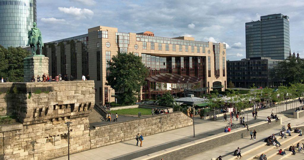 Das Hyatt Regency Köln zählt zu den wenigen 5-Sterne-Hotels in unmittelbarer Nähe der Gamescom (Foto: GamesWirtschaft)