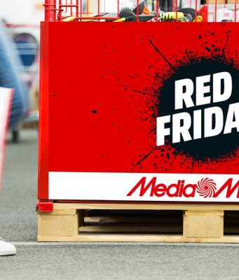 Deals, Deals, Deals: Der Media Markt Red Friday 2017 lockt mit spektakulären Angeboten (Foto: Media Markt).