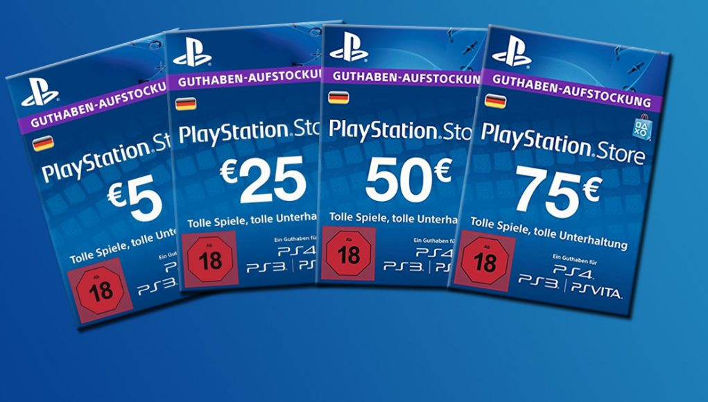 playstation store guthaben angebote und preise. Black Bedroom Furniture Sets. Home Design Ideas