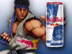 """Bis Ende Januar im Handel: die Red Bull Sonderedition zum """"Street Fighter""""-Jubiläum."""