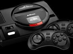 Klein, schwarz, stark: die Retro-Konsole SEGA Mega Drive Flashback HD (Foto: ATGAMES)