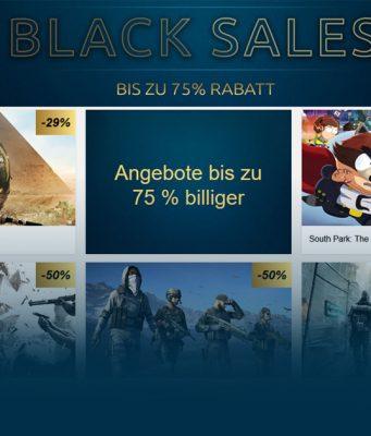 Black Sale im Ubisoft Store: Bis zu 75 Prozent Rabatt auf Neuheiten und Klassiker.