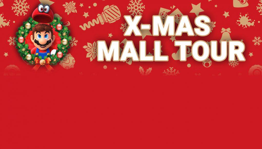 Nintendo X-Mas Mall Tour 2017: Städte und Termine
