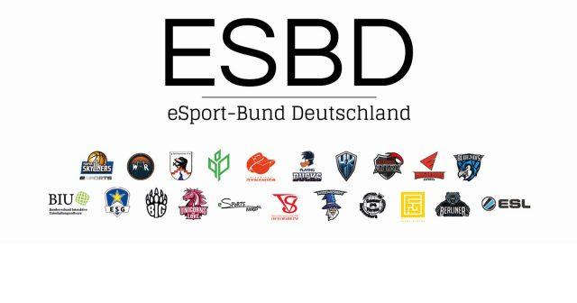 Zum Start vertritt der eSport-Bund Deutschland (ESBD) 20 deutsche Profi- und Amateur-Teams.