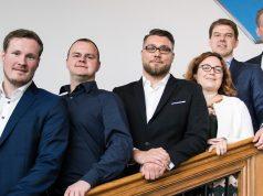 Das Präsidium des eSport-Bund Deutschland (ESBD): Niklas Timmermann, Martin Müller, Hans Jagnow, Anna Baumann (Justiziariat), Fabian Laugwitz und Jan Pommer (Foto: ESBD, Maria Manneck)