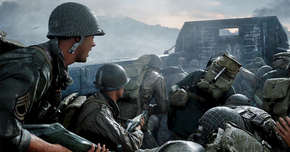 Call Of Duty Wwii Verkaufszahlen Ps4 Version Schafft 500