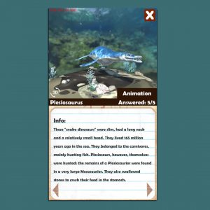 """Fossilis""-App (Foto: Games Academy)"