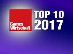 Die zehn meistgelesenen GamesWirtschaft-Artikel im Jahr 2017.