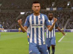 Hertha-BSC-Neuzugang Davie Selke gilt als leidenschaftlicher PlayStation-Spieler - beste Voraussetzungen für die vereinseigene eSport-Akademie (Bild: Hertha BSC)
