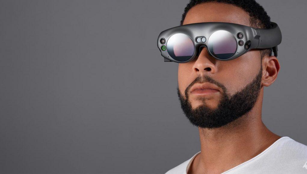 Futuristisch: das Design der Augmented-Reality-Brille Magic Leap.