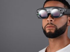 Futuristisch: das Design der Augmented-Reality-Brille Magic Leap.