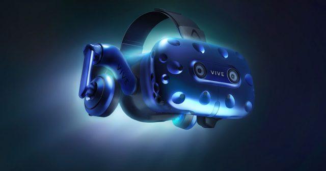 Höhere Auflösung, integrierte Kopfhörer: Die HTC Vive Pro gehört zu den Neuheiten der CES 2018 (Abbildung: HTC)