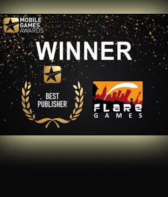 Bester Publisher bei den Mobile Games Awards 2018: Flaregames
