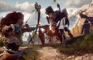 """Die Sony-exklusive Neuheit """"Horizon: Zero Dawn"""" hat es in die Top 10 der meistverkauften Spiele 2017 im PlayStation Store geschafft."""