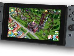 """Die Switch-Version von """"Rollercoaster Tycoon"""" soll via Crowdfunding finanziert werden (Abbildung: Atari)"""