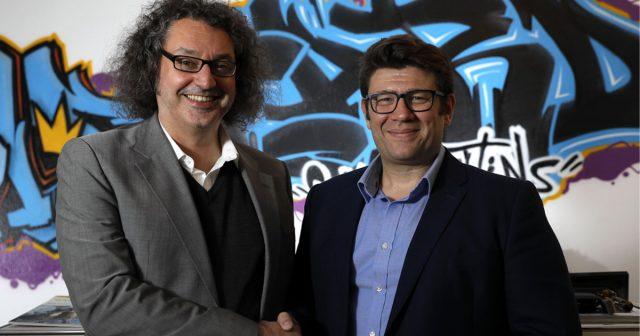 Georg Reckenthäler (CEO von Wildcard Communications) und Ranieri-Gründer Pietro Ranieri